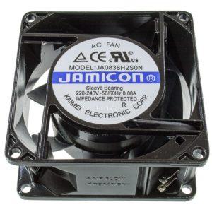 Вентилятор JA0838H2S  (80×80х38, 220V  0,08А) втулка
