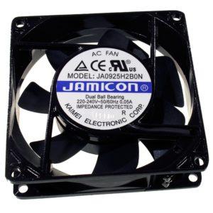 Вентилятор JA0925H2B  (92×92х25, 220V  0,05А) подшипник