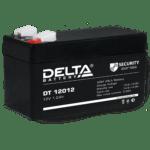 Аккумулятор  12В   1,2А  Delta
