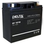Аккумулятор  12В 18А Delta