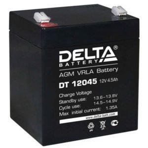 Аккумулятор  12В  4,5А Delta