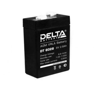 Аккумулятор   6В  2,8А Delta
