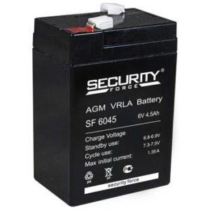 Аккумулятор   6В  4,5A  Delta