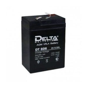 Аккумулятор   6В  6A  Delta