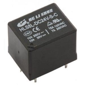 Реле  24V  HLS8L (3F, T73, SRD)  10A/250VAC