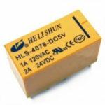 Реле  24V  HLS- 4078 (19F, SRC)  1A/2А   220VAC