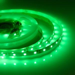 Светодиодная лента (3528) зеленая не герм.  (3 SMD  5см.)