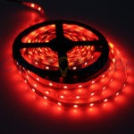 Светодиодная лента (2835) красная не герм.  (3 SMD  5см.) 60св/4,8Вт