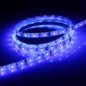 Светодиодная лента (3528) синяя герм.  (3 SMD  5см.)