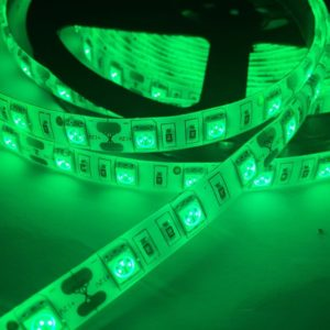 Светодиодная лента (5050) зелёная герм.  (3 SMD  5см.)