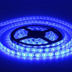 Светодиодная лента (5050) синяя герм.  (3 SMD  5см.)