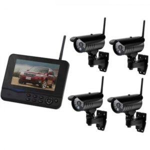 Беспроводная система видеонаблюдения DVR-8107