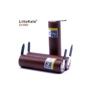 Аккумулятор (18650) 3,7В 3000 mАh с вывод. (30A) LiitoKala
