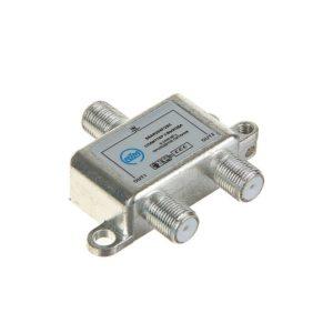 Антенный разветвитель на 2 ТВ для спутник. антенны (SSAH-204F/2DC)