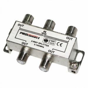 Антенный разветвитель на 4 ТВ 2774 (4-804)