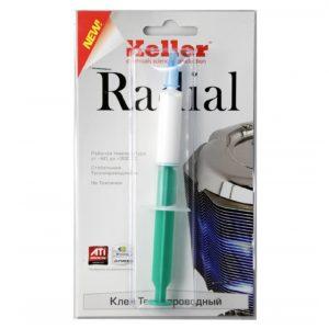 Клей теплопроводный термоклей Радиал