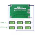 Плата защиты заряда литий-ионных аккумуляторов с балансиром 3S 40A