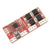 BMS контроллер 4S плата заряда защиты 4x Li-ion 18650 14.4В 16.8В 15А