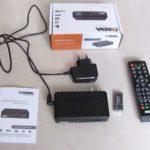 Цифровой телевиз. приемник DVB-T2 (CDT-1712)
