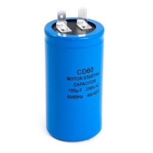 Конденсатор CD60 50мкФ 300В (выв. клеммы)