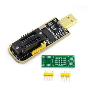 USB программатор на CH341A для 24-25 серий EEPROM Flash BIOS