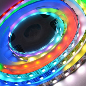 Светодиодная лента (5050) RGB адресн. не герм. (3 SMD 5см.) 2812