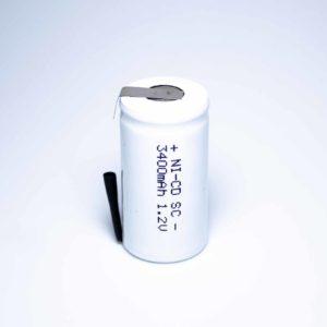 Аккумулятор   1,2В 3400мАч с вывод