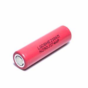 Аккумулятор 18650 2500mAh (20А) LG (LGDBHE21865)