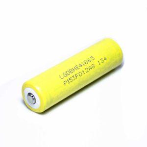 Аккумулятор (18650)  3,7В  2500 mАh  (LGDBHE41865)