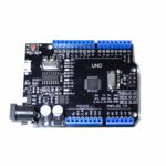 Arduino UNO R3 CH340G+ATMEGA328P 16мГц+ USB micro кабель (black)