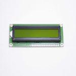 Дисплей LCD 1602 зелёный