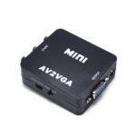 Конвертер 3 RCA на VGA mini