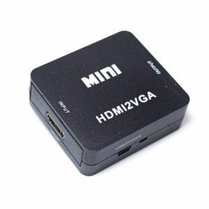 Конвертер HDMI на VGA mini