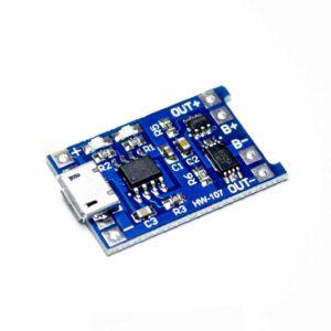 Модуль заряда TP4056 с micro USB с защитой