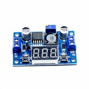 Плата пониж. модуль 4-40V 1,3-37V LM2596 с индикатором