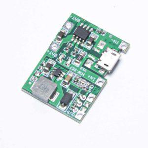 Модуль заряда TP4056 с micro USB с повыш.преобраз.