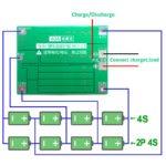 Балансировочная плата заряда АКБ 18650 3АКБ 40А (HW-288) с защитой