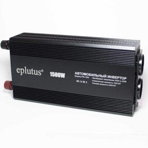 Преобразователь напряжения 24V-220V 1500W (PW-1500) Eplutus