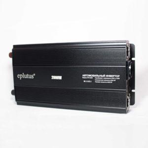 Преобразователь напряжения 24V-220V 2000W (PW-2000) Eplutus